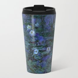 Blue Water Lilies Monet 1916- 1919 Travel Mug