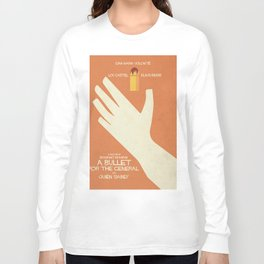 A Bullet for the General, Movie with Klaus Kinski, Gian Maria Volonté. Spaghetti Western Poster Long Sleeve T-shirt