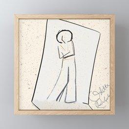 It's a mood | mini fashion print |  Framed Mini Art Print