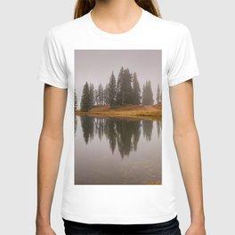 Colorado Fall Colors Panorama T-shirt