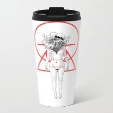 Flowering Metal Travel Mug