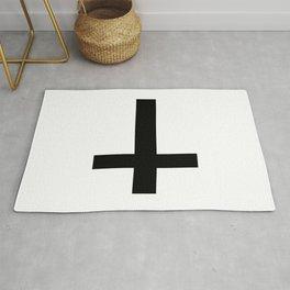 Satanic Cross Rug