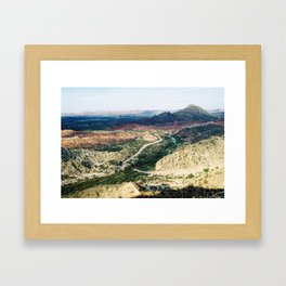 Jachal 1 Framed Art Print