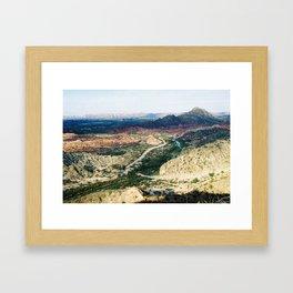 Jachal 1 Framed Art Print