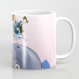 Jonah and the big fish Coffee Mug