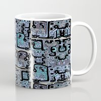 peru Mugs featuring Old Peru by gtrapp