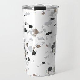 Terrazzo White Travel Mug