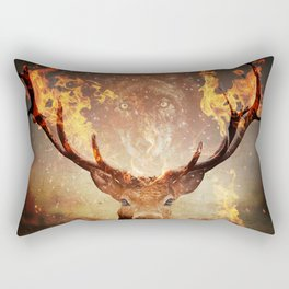 Internal flame Rectangular Pillow