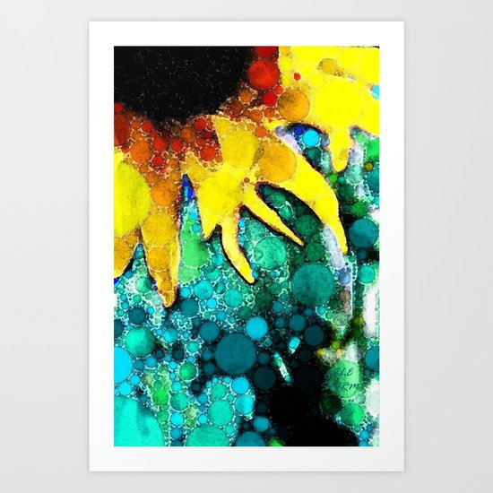 :: Sun Kissed Fate:: Art Print