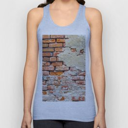 Old Brick Wall Unisex Tank Top