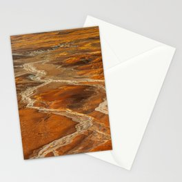 Painted Desert landscape at Petrified Forest National Park Stationery Cards