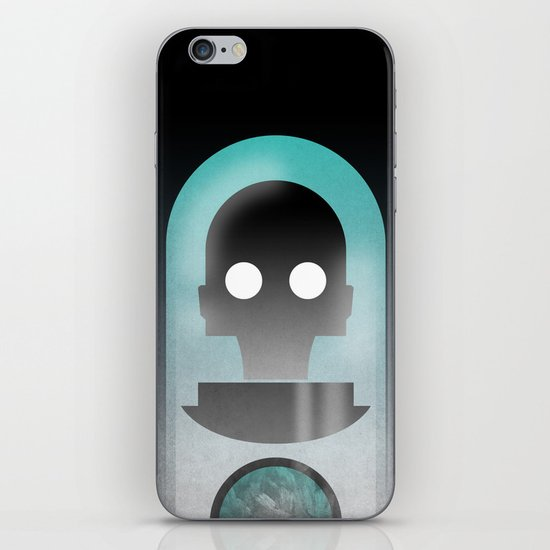 Mr. Freeze iPhone & iPod Skin