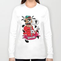 swag Long Sleeve T-shirts featuring SWAG by reda el mraki