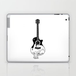 The intriguing sounds of nature Laptop & iPad Skin