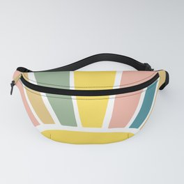 Retro Sun Ray Burst Fanny Pack