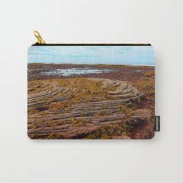 Textured Shoreline Carry-All Pouch
