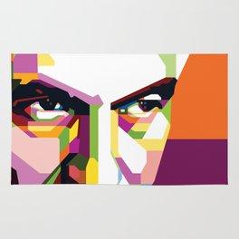 Jacquez Derrida Pop Art Rug