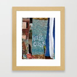 Northeast Framed Art Print