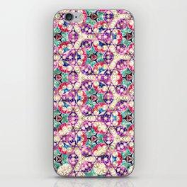 Watercolor Kaleido Pattern iPhone Skin