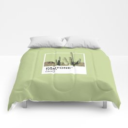 Pantone Series – Cactus Comforters