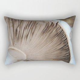 TEXTURES -- Mushroom Uprooted Rectangular Pillow