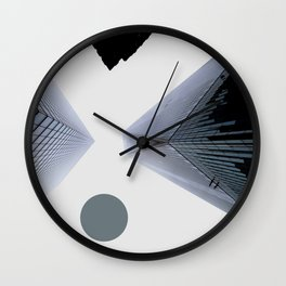 To the Skies - September 11 Tribute Wall Clock