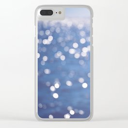 Indigo Sea Clear iPhone Case