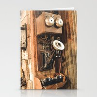 telephone Stationery Cards featuring Telephone by Imaginatio