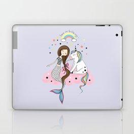Mermaid & Unicorn Laptop & iPad Skin