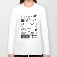 ouat Long Sleeve T-shirts featuring OUAT - A Wizard by Redel Bautista