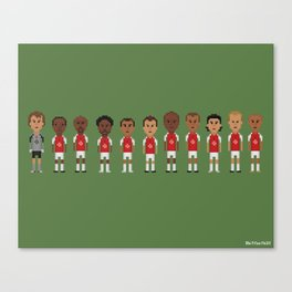 Arsenal Invincibles (side-by-side) Canvas Print