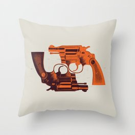 Detective Special Throw Pillow