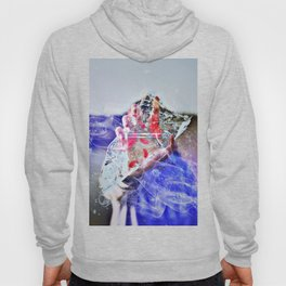 Cold Red Feathers by GEN Z Hoody