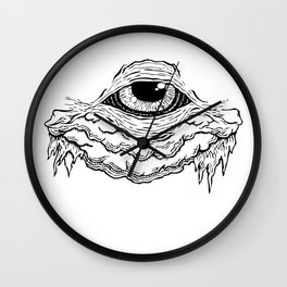 The Eye of Truth Wall Clock