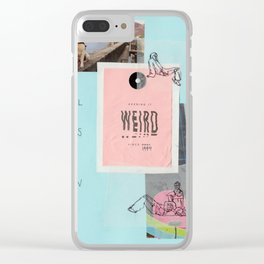 call this a win Clear iPhone Case
