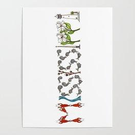 Mississippi Word Art Poster