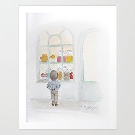 La vitrine Art Print