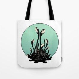 Cymatic Birds Tote Bag