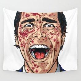 Patrick Bateman the American Psycho Wall Tapestry