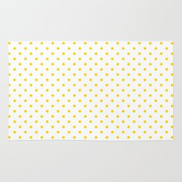 Dots (Gold/White) Rug