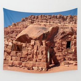 Cliff_Dwellers Stone_House - I Wall Tapestry