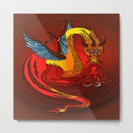 dragon metallizer Metal Print