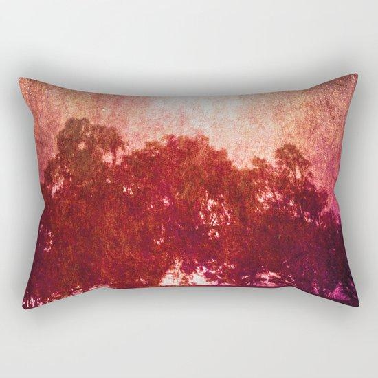 Waves of Light Rectangular Pillow