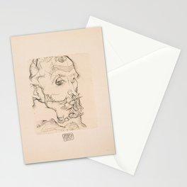 Egon Schiele - Portrait of Franz Hauer (1914) Stationery Cards