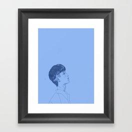 Under the Weather Framed Art Print