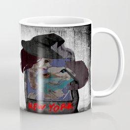 Dark kiss - NYC map Coffee Mug