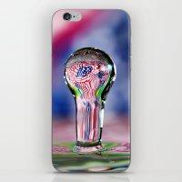 patriotic iPhone & iPod Skins featuring Patriotic Splash by ThePhotoGuyDarren