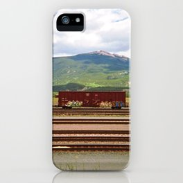 Train Car. iPhone Case