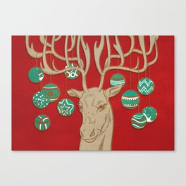 Fabulous Rudolph Canvas Print