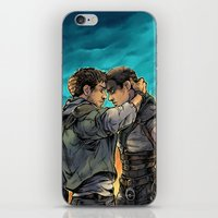 daunt iPhone & iPod Skins featuring Say Goodbye by Daunt